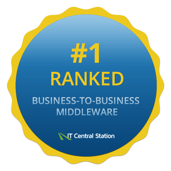 IT Central Station Number 1 ranked business to business middleware